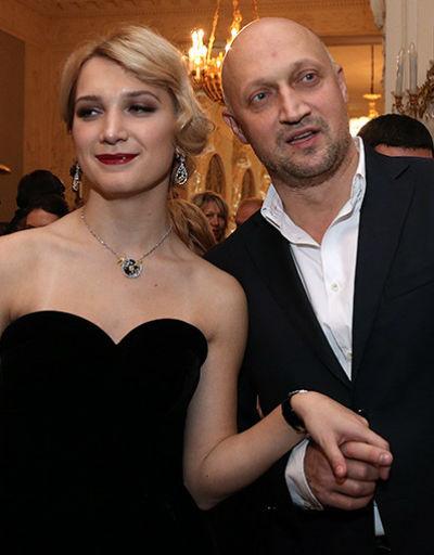 Гоша Куценко со старшей дочерью Полиной