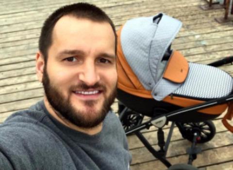 Алексей Самсонов впервые показал сына