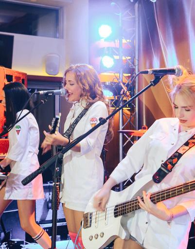 Победители конкурса – музыкальная группа «Пудра»
