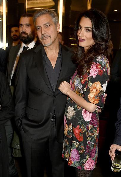 Амаль и Джордж Клуни на вечере в Лондоне