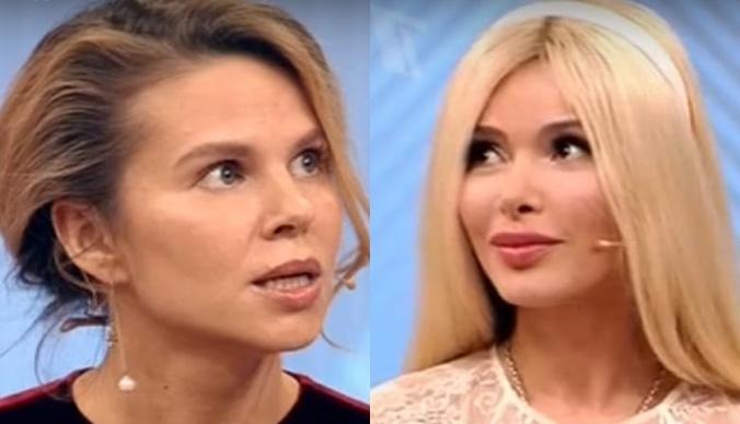 Избитая мужем Алена Кравец поделилась опытом с Ольгой Казаченко