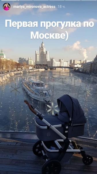 Мария показала сыну город