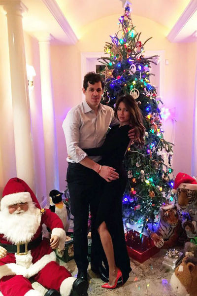 Евгений Малкин с супругой
