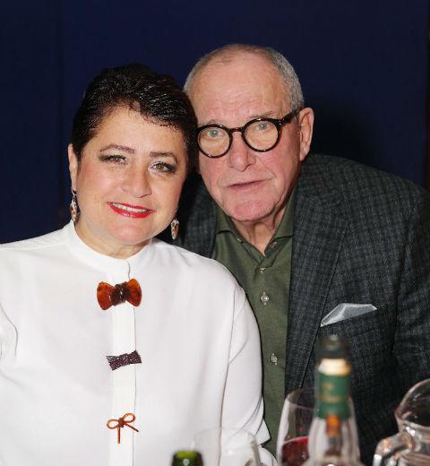 Эммануил Виторган с супругой Ириной Млодик