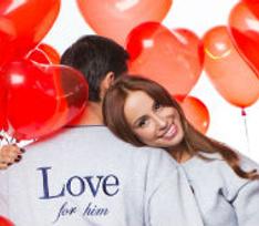 Доказательство любви: парные свитшоты LOVE