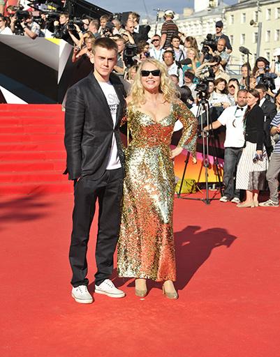 Елена Кондулайнен с сыном