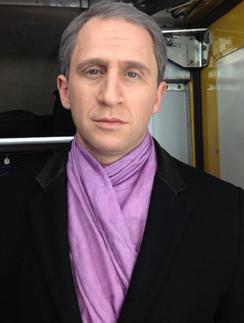 Оскар Кучера в новой роли