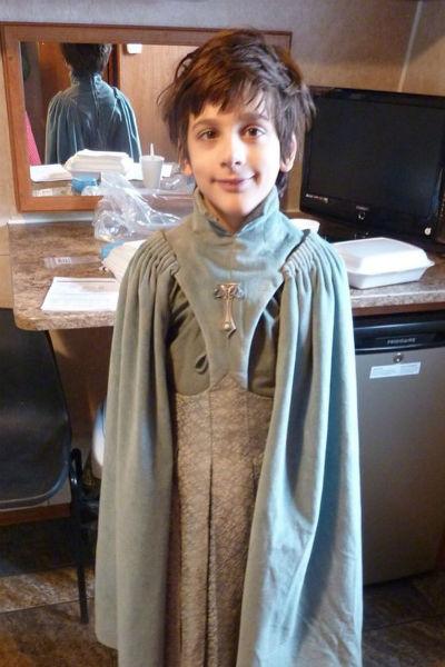 Лино пришел на пробы, когда ему было около 10 лет
