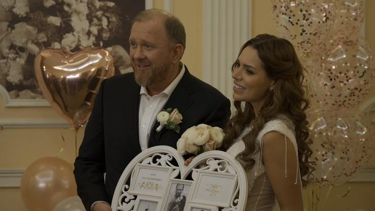 Константин и Валерия выглядели очень счастливыми