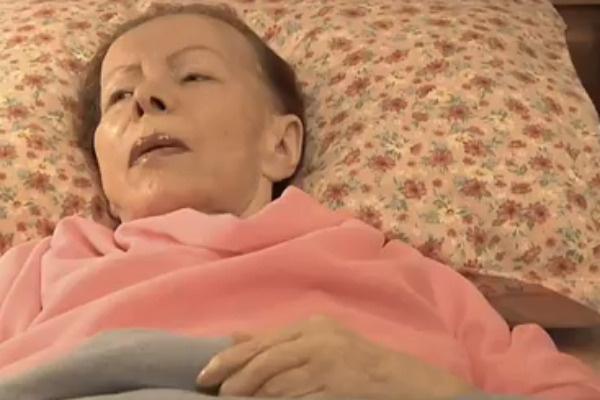 В последние годы жизни Стрельченко уже не вставала с постели