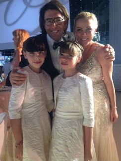 Я с Анжеликой Ронсон на дне рождения ее дочерей