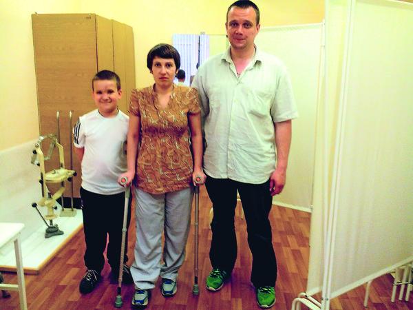 Бобришевы стали одной из семей, которым Доктор Лиза протянула руку помощи