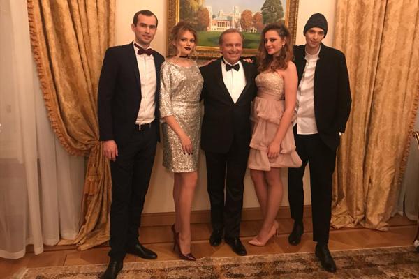 Константин Щербинин и его дети