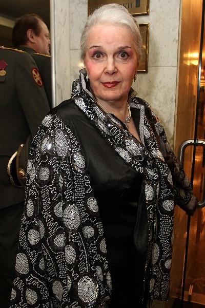 Элина Быстрицкая не посетила похороны бывшего супруга
