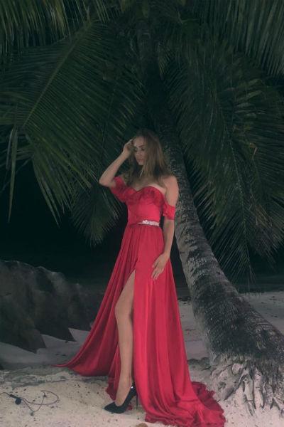 Лера была на площадке на Сейшельских островах