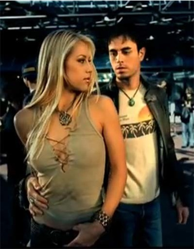 Анна Курникова и Энрике Иглесиас познакомились на съемках клипа певца