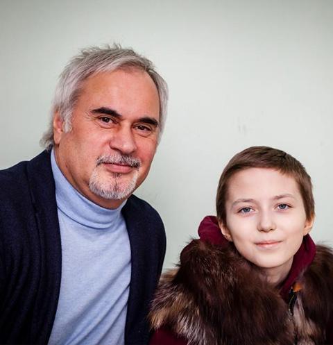 Валерий Меладзе и его поклонница Даша