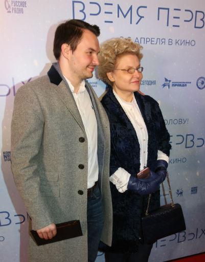 Елена Малышева с сыном