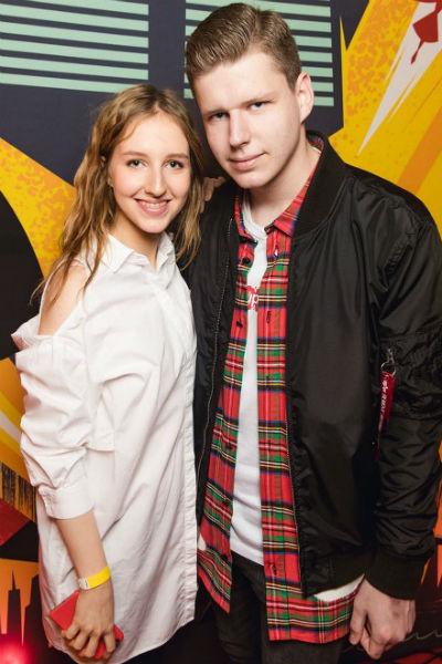 Полина и Даниил Виторган, дети Максима от брака с актрисой Викторией Верберг