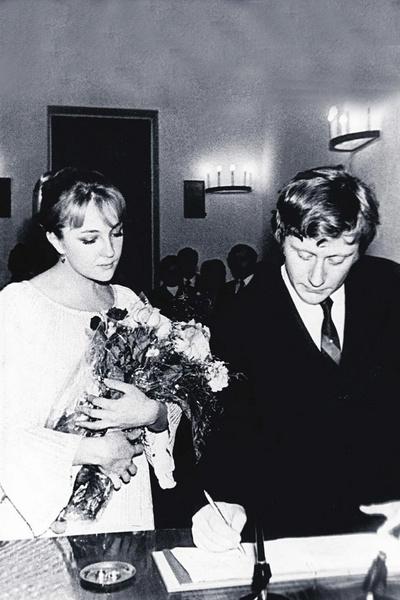 Влюбленные поженились в 1971-м