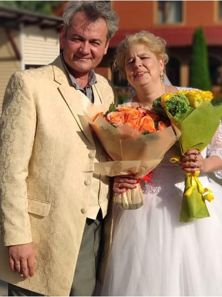 Недавно супруги отметили годовщину свадьбы