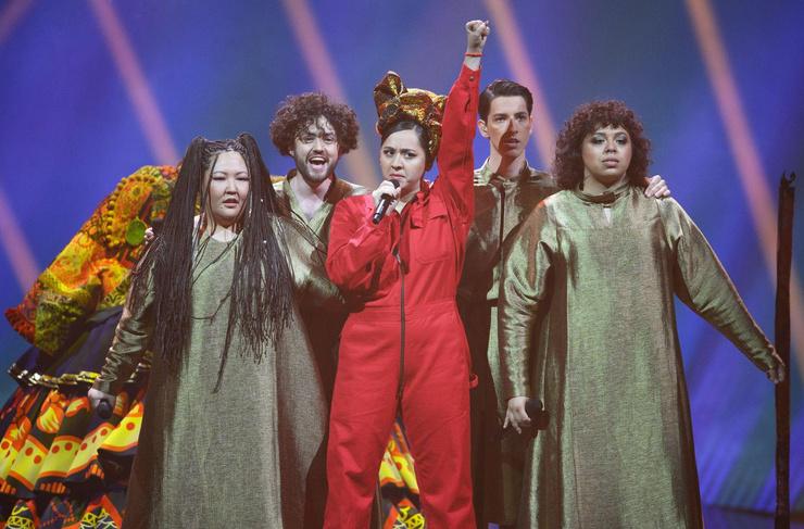 Манижа выступила на «Евровидении»