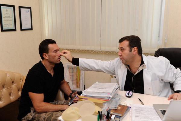 Пластический хирург оценил нос Терехина