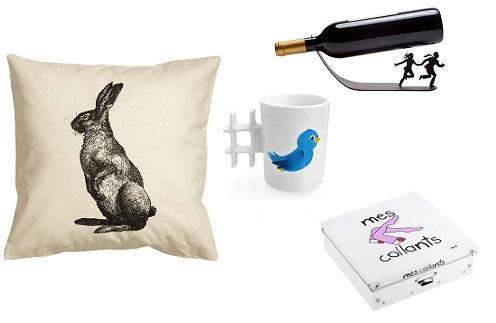 Подушка H&M, кружка, подставка для бутылки и коробка все PICHSHOP