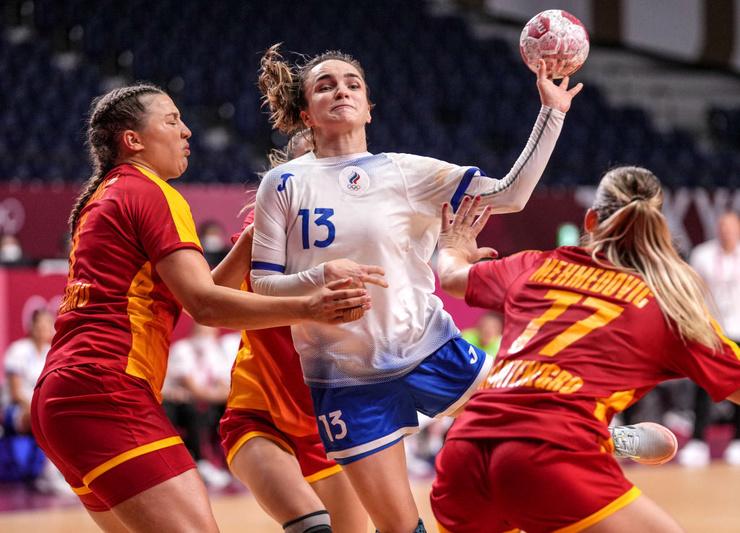 Анна Вяхирева - одна из лучших гандболисток на этом турнире.