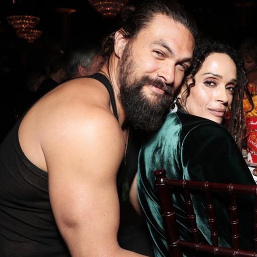 Джейсон Момоа с женой