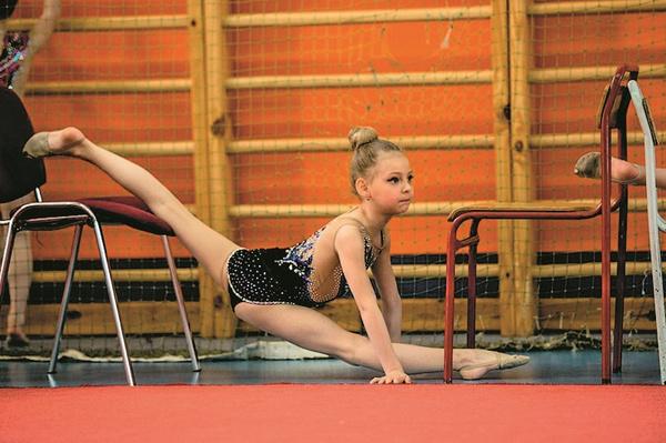 Также Вера занимается гимнастикой пять раз в неделю
