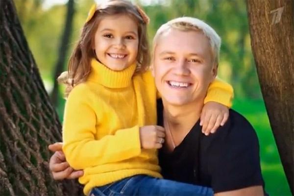 Антон Зацепин обожает свою дочку