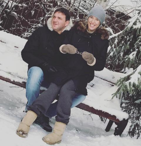 Ксения Собчак и Максим Виторган обустраивают детскую