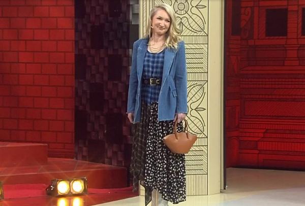 Ольга после работы стилистов