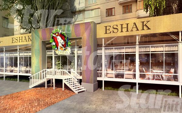Так будет выглядеть ресторан после завершения ремонтных работ