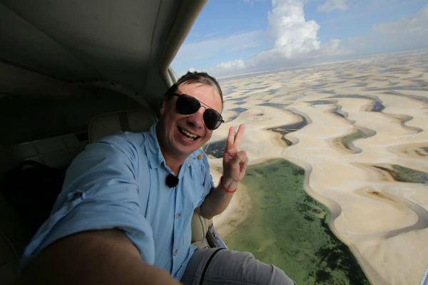 Дмитрий много путешествует по экзотическим странам