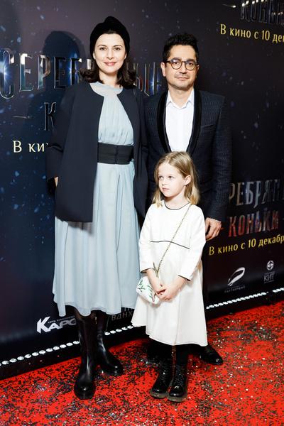 Алексей Боков с семьей