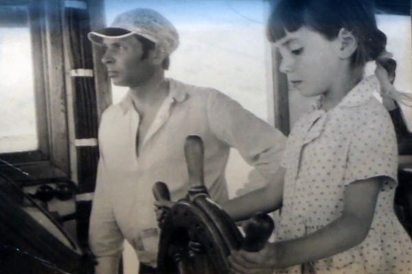 Родители c малых лет брали Наталью с собой на яхту