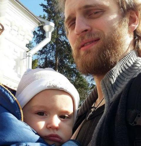 Соломенцев с младшим сыном Ноем