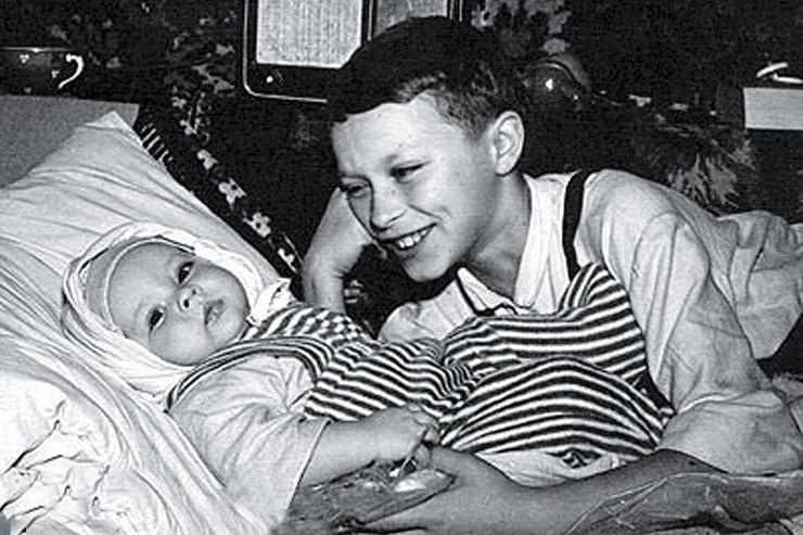 Александр Домогаров с братом Андреем