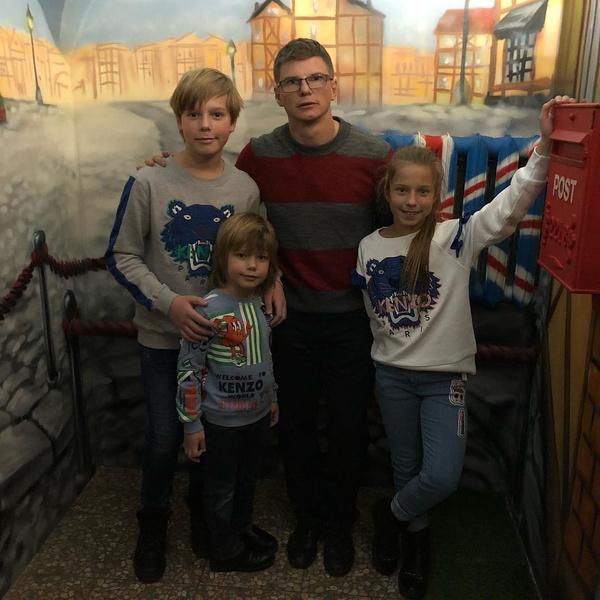 В прошлом году Аршавин возобновил общение с детьми от Барановской