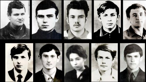 Студенты, погибшие у перевала Чивруай