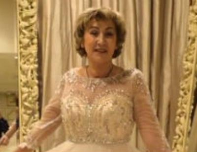Невеста Прохора Шаляпина примерила свадебный наряд