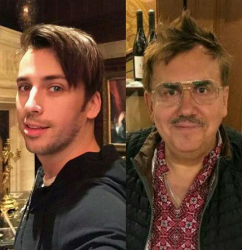 Максим Галкин и Станислав Садальский