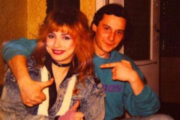 Маша Распутина с Олегом Виленкиным