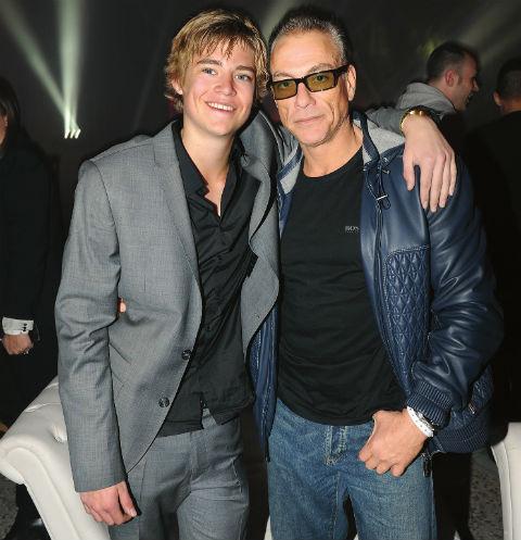 Сын Николас родился у Ван Дамма в браке с американской актрисой и моделью Дарси ЛаПьер