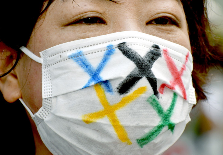 Большинство жителей Токио будут смотреть открытие Олимпиады по телевизору