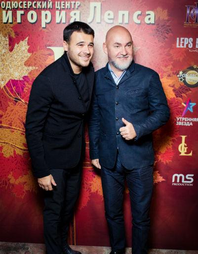 Эмин Агаларов и Сергей Кожевников