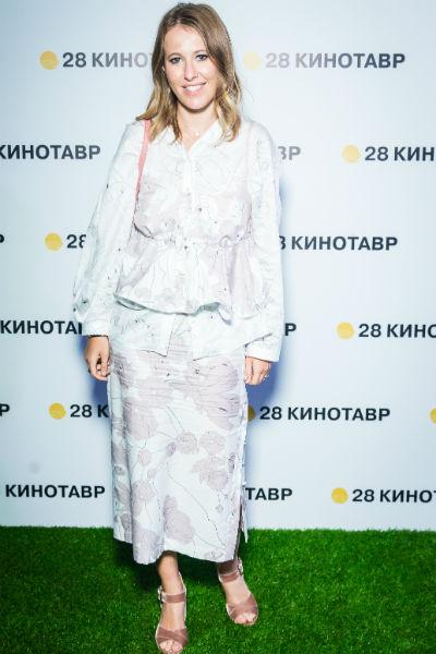 Ксения Собчак на закрытой вечеринке