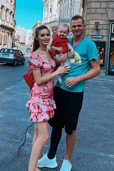 Семья отдыхает в Италии